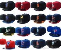 Лучшие продажи 2021 все команды Toronto Бейсбол для бейсбола Подходящие шляпы Giants SF New york мужские полные замкнутые плоские козыреки Rangers на полевой шапке COND HH