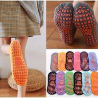 Adult Children Yoga Socks Silicone Non-Slip Floor Socks Comfortable And Breathable Cotton Dance Ballet Fitness Non-Slip