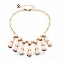 Collana di dichiarazione bolla Bib collana 2014 girocolli di moda per le donne gioielli in resina perline collane all'ingrosso