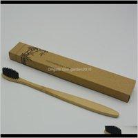 Bath Brushes Sponges Scrubbers 5 Colors Fashion Eco Friendly Toothbrush Soft Nylon Capitellum Bamboo Handle Toothbrushes For El Tkvzl Fbk8B