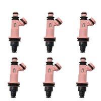 6Sets / stks voor TOYOTA LEXUS LS430 GS430 SC430 Fuel Injector Nozzle Reparatie Sevince Kits Onderdelen 23250-50030 (AY-RK101)