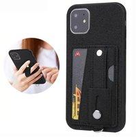 Easy Transport Strip Slot Slot Soft Téléphone Soft pour iPhone 12 11 PRO Max XR XS 7 8 Samsung S20 S10 Note10 Plus Téléphone de téléphone portable