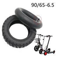 Motorcycle Wheels & Tires 11 Inch Tubeless Rubber Tyre 90 65-6.5 Off Road Vacuum Tire For 47cc 49cc Mini Pocket Bike Gas Electric Scooter