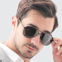 Veithdia الرجال النظارات الشمسية الكلاسيكية خمر الطيار الاستقطاب uv400 عدسة الشمس نظارات العلامة التجارية مصمم القيادة للرجال النظارات V1306