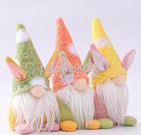 Páscoa coelhinho gnomo handmade sueco tomte coelho pelúcia brinquedos enfeites de boneca casa decoração festa decoração crianças páscoa presente bonito