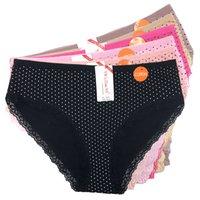 Plus Size Panties Woman Soft Comfortable High Rise Cotton Underwear Big Size 2XL 3XL 4XL Large Fashion Woman Briefs