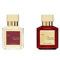Stokta var ! Baccaratfume 70ml Maison Bacarat Rouge 540 Exaftar Eau De Parfum Paris Koku Adam Kadın Köln Sprey Uzun Ömürlü Koku