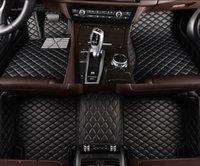 Mercedes Benz E200 W211 자동 발 패드 자동차 카펫 커버 용 플래시 매트 가죽 자동차 바닥 매트