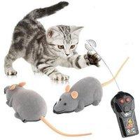 Flocking Пульт дистанционного управления Мышь и Кошка Игрушка Ротационная электрическая батарея Беспроводной пульт дистанционного управления Автомобиль