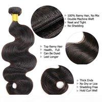 الجسم موجة الخام عذراء الشعر 3 قطع الكثير غير المجهزة مزدوجة تعادل النسيج الرطب متموج الشعر البشري الماليزية الهندي بيرو البرازيلي رخيصة نسج