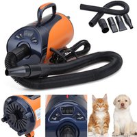 Yonntech 2800W Dog Cat Pet LED Display 8 Speed Blaster Heater Dryer Grooming Blower Warm Wind Secador