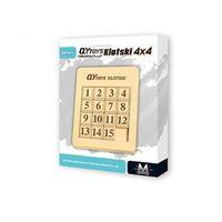 QIYI traditional klotski 4x4 intelligence sliding puzzle 15 jigsaw with plastic ABSZMGI