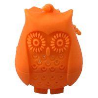 Silicone Owl Tea Tools Strainer Cute Bags Food Grade Creative loose-leaf Infuser Filter Diffuser Fun Accessories DDA6099