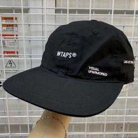 WTAPS Düz Ağız Beyzbol Kap Erkekler Kadınlar Nakış Baba Şapka Hip Hop Snapback Trucker Cap Golf Açık Ayarlanabilir Casual Harajuku T200409