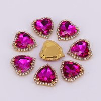 Wedding Sashes 20pcs Lot Gold 12mm 14mm 18mm Rhinestone Pendants Buttons For Decoration Flatback Metal Brooch Hair Bow DIY Jewelry