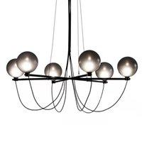 Pendant Lamps Modern Chandelier Lighting Nordic Glass Ball Furniture For Living Room Decoration Restaurant Loft Home Decor Light Fixture