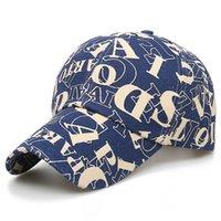 Summer Trendy Letter Print Baseball Cap For Men Women Navy Red Streetwear Young Hip Hop Caps Snapback Korean Face Hat 2021