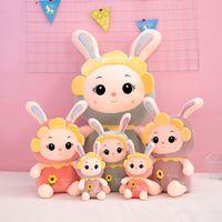 30cm cute rabbit doll plush toy children soft stuffed animal dolls rabbit toys high quality birthday gifts
