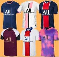 PSG Camiseta de fútbol 20 21 22 paris saint germain camisetas 2020 2021 MBAPPE NEYMAR JR ICARDI hombres + de maillot de foot 4th de la soccer jerseys chandal