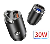 Joyroom REMAX Car Charger Mini With QC 4.0 3.0 Quick Charge Type C PD 20W USB ring Fast adapter