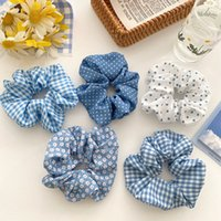 Sweet Scrunchies chifffon Ties Girls Ponytail Holders Rubber Band Elastic band Hair Accessories
