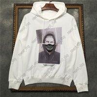 Designer Mens Womens Sweatershirt Mit Kapuze Hoodies Luxus Weiß Schwarz Geometrie Druck Sweathirt Mode Straße Langarm Luxurys Jumpers