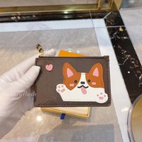 최신 카드 홀더 디자이너 동전 동전 지갑 키 주머니 디자이너 Womens 핸드백 지갑 패션 만화 지갑 Luxurys 브랜드 동물 선물 어린이 가방 도매