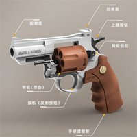 Little Moon Revolver Toy Glock Colt ZP-5 Molle Pistola per bambini Pistola per bambini Pistol
