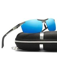 야외 안경 편광 스포츠 낚시 운전 하이킹 태양 안경 자전거 자전거 UV400 렌즈 도매 남자 여성 MTB 자전거를위한 도매
