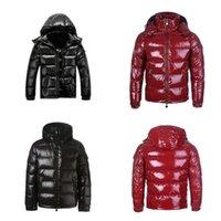 2021 Высочайшее качество Классическая зимняя куртка с капюшоном Куртки с капюшоном мужчины ветрозащитные теплые черные красные пальто женщины верхняя одежда толстая уличная одежда Homme мода на открытом воздухе S-3XL