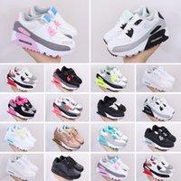 Max 90 2019 kid Cushion أحذية الجري للرجال النساء أحذية رياضية بنين بنات المدربين حذاء رياضة الأطفال تشغيل 28-35 يورو