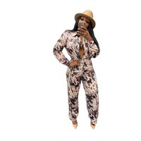 Women's Two Piece Pants Young Party Lady Fashion O Neck Long Sleeve Bro And Sexy Tight Club Part Tracksuits
