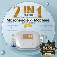 Máquina de RF Fracticular profesional Micromónedle Micronoteed Mark Remov Micro Aguja Acné ACNE CUIDADO CUIDADO Belleza Radio Piel Apretar Scar Scurval