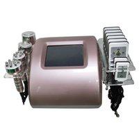 Máquina de adelgazamiento del cuerpo profesional Pérdida de peso de la liposucción 650nm diodo láser 8 lipo almohadillas Máquinas Máquinas Equipos de masajeamiento Uso del hogar
