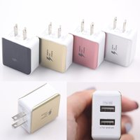 2 USB Port Charger US Pplug For Phones , Tablet PC 5V 2A Home & Travel Adapte