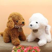 Carino Natale Plus giocattoli regali per bambini adulti morbidi teddy cane farcito bambole di animali per regali di Natale Capodanno