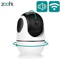 ZOOHI WIFI Kamera Gözetim Kameraları Kapalı 1080 P Ev Kamera HD İki Yönlü Ses Kablosuz Güvenlik Kamera Onvif Gece Görüş