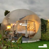 Bubble house Hash houses Stay star sky transparent bubbles tents Hotel scenic spot outdoor inflatable tent Customized products