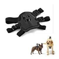Collari per cani Guinzaglio 1 pz Imbracatura regolabile Cinturino toracico Mount Action Camera Holder Base Eroe Accessori Sport Accessori