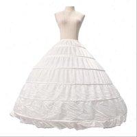 レディーススカート花嫁のスカートペチコート6レイヤースチールリングのウェディングドレスプラスサイズの大きいPettiskirt