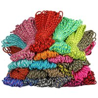 Colors 5mm 7 Stand Cores Paracord Outdoor Survival Camping Tent Knit Rope Hiking Clothesline DIY Bracelet 100M Gadgets