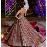Современные розовые золотые африканские отражающие Quinceanera платья из бисера Кристаллы из бисера с бедным спитным выпускным платьем.