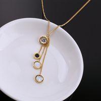 Pendant Necklaces TOSAKO Stainless Steel Necklace Titanium Pendants Sweater Chain Roman Numerals Women's 2021 Trend Jewelry