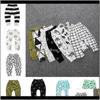 Baby, & Maternityinfant Kids Designer Clothes Toddler Baby Girls Trousers Unisex Harem Pants Clothing Boys Panda Leggings Tights Drop Deliver