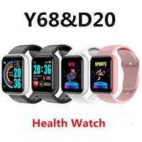 "Y68 Smart Watch Wristbands D20S Smartwatch 1. 44"" Fitnes..."