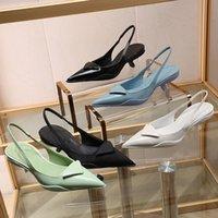 Mulheres Formal Sapatos Designer Sandálias Qualidade Altura do Salto 3.5cm Runway Senhora Senhora Marca Elegante Do pé verão casamento