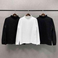 Doğru Sürüm ALYX Yüksek Yaka Yaka Baskı Çift Klasik Uzun Kollu T-shirt ile EZPQ altında T-shirt
