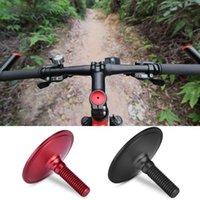 Auriculares de bicicleta tapa tapa aleación de aluminio bicicleta manillar tapa tapa superior tapa para 28.6mm tenedor cubierta de tubo tallo