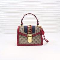 الفمهات المصممين حقائب النساء حقيبة يد رسول حمل الأزياء خمر الطباعة الكتف حقيبة crossbody الكلاسيكية جودة عالية HBP