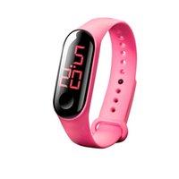 Wristwatches 2021 Electronic Sports Luminous Sensor Watches Fashion Men And Women Dress Watch Digital Gif Men's